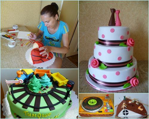 Как научится печь торты в домашних условиях 694
